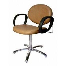 COLLINS 1730 BERRA QSE Spring Or Lever-Control Shampoo Chair with 5-Star Base