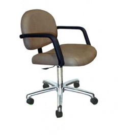 COLLINS 1845 FUTURA QSE 5 STAR ROLLER CASTER BASE TASK CHAIR