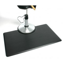 "Unique 3'X4.5' - 5/8""  Rectangular Stylist Mat WITH Chair Depression"
