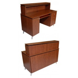 COLLINS 416-56 ALPHA QSE RECPTION DESK QUICK SHIP COLORS
