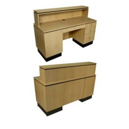 COLLINS 4417-60 GAMMA OR 4417-60C DELTA QSE RECEPTION DESK