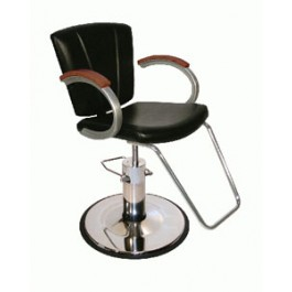 COLLINS 9701 VANELLE SA QSE Hyraulic Styling Chair on Standard Hydraulic Base
