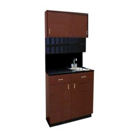 COLLINS 850-48-1 COLOR CENTER SUPPLY ROOM STORAGE OR SALON SINK, CUBBIES,48""