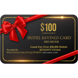$100 Savings Card