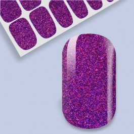 B.Youthful Nail Wraps - Violet Sparkles
