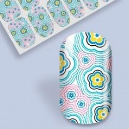 B. Youthful Nail Wraps - Wavy Daisy