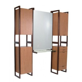 COLLINS 968-66 ENOVA AR TOWER BACK TO BACK STYLING STATIONS FOR TWO WILLSON ART COLORS
