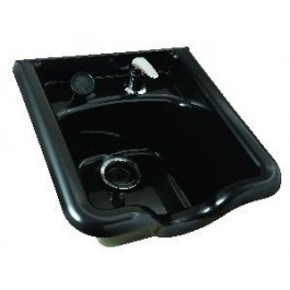 SHAMPOO BOWL, 8400 - 570 , JEFFCO,  WITH  FIXTURES