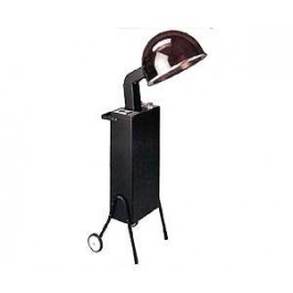 KAEMARK PROF. HAIR SALON DRYER, 1990-DC QUICK SET, LARGE HOOD PORTABLE ON WHEELS.