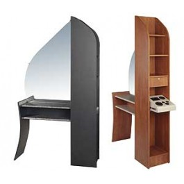KAEMARK USA.RP-205 REFLECTIONS STATION, MIRROR SHELF COMPLETE AS PICTURED