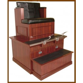 COLLINS 9040B BRADFORD SHOE SHINE STAND