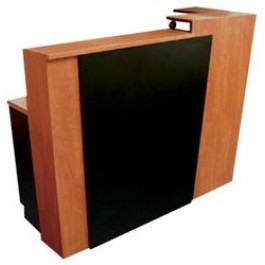 Pibbs 5004 Reception Desk W/ Check Writing Surface