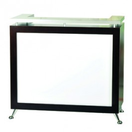 Pibbs 5057 Lit-Front Panel Reception Desk
