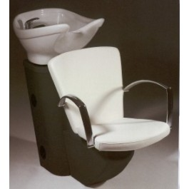 COMFORT WASH, PIBBS, KATIA 870 ADJUSTING BOWL AND CHAIR, - BLACK FRAME