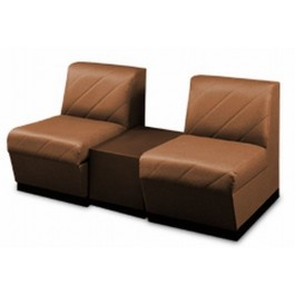 Collins 2610 MAGNUM Reception Sofa DOUBLE SOFA WITH TABLE