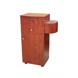 Union Beauty ST921 Mobile Styling Station Pearwood