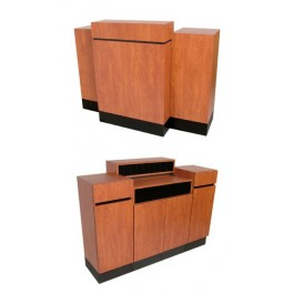 COLLINS 491-60 REVE Standing Reception Desk