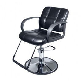 YCC H-1801 STYLING CHAIR ROUND BASE