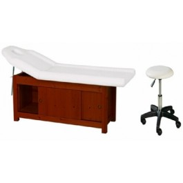 Union Beauty FB834 Facial Bed - White