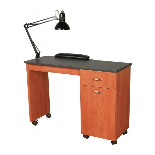 Collins 3344 42 cameo manicure table wholesale cameo for Cheap nail desk