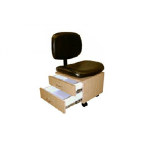 Collins 2510 Qse Pedicure Chair With Storage Drawers