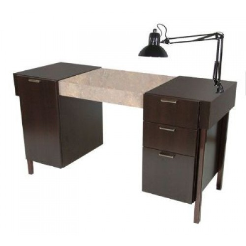 Collins 974 54 enova nail table wholesale enova 54 nail for Salon enova
