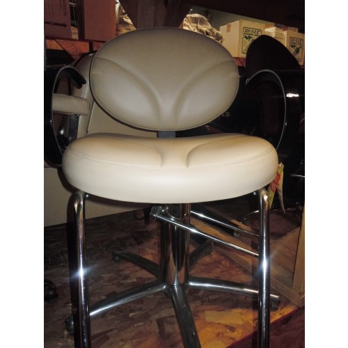 Used new collins styling chair beige for Used salon chairs