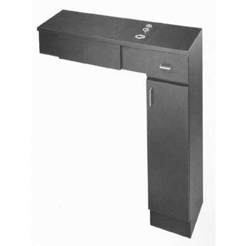 High Quality BEAUTY SALON STYLING STATION PIBBS PB20 DRAWERS TOP APPLIANCE WITH CABINET