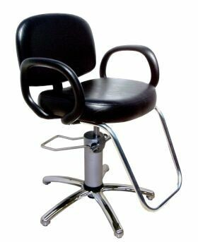 COLLINS USA.1600S KIVA QSE. Hydraulic Styling Chair with Slim-Star Base