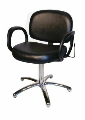 COLLINS 1630L KIVA QSE Lever Control Shampoo Chair with 5-Star Base