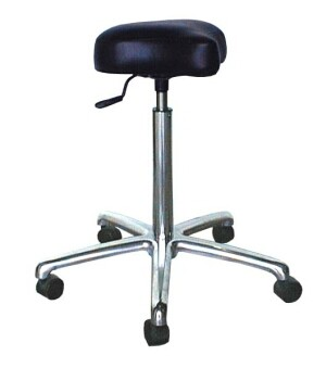 COLLINS 1870 QSE Bicycle Seat Cutting Stool 5 Star Roller Caster Base
