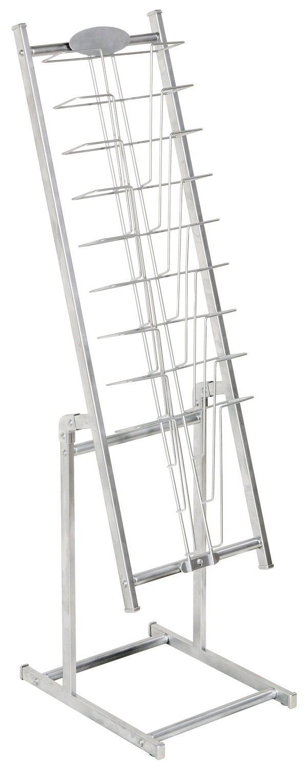 SAVVY 221 METAL MAGAZINE RACK