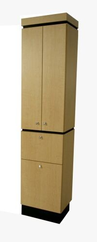 COLLINS 429-18 QSE USA. CABINET FOR TOWELS, SUPPLIES, COLOR STORAGE
