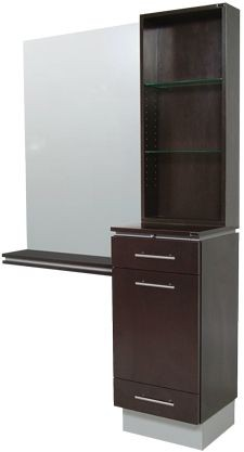 Collins 4408-54 NEO London Tower Styling Station w/ mirror