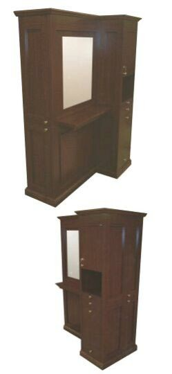 BACK TO BACK STYLING STATION FREE STAND ISLAND,COLLINS 44875.1