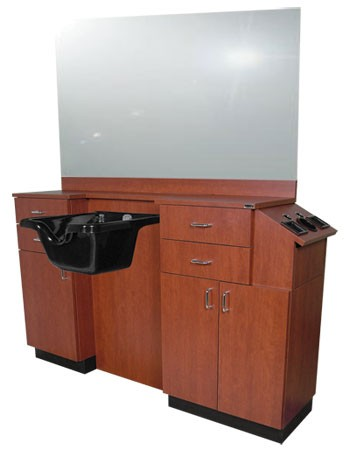 Collins 5511-66 Deluxe Barber Station