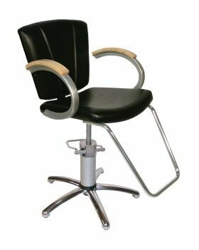 Collins 9701S VANELLE SA QSE Hydraulic Styling Chair with Slim-Star Base