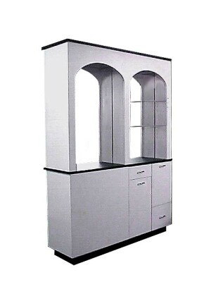 COLLINS 732-60-1 ARCHWAYS STATION FREE STANDING BACK TO BACK STATIONS WILLSON ART COLORS