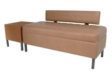 COLLINS 955-50 ENOVA Waiting Area Bench w/ Lumbar Back Support