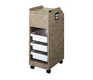 KAEMARK LC-1056 ROLLER CART 3DRAWERS WITH 4 PLEX ELECTRIC
