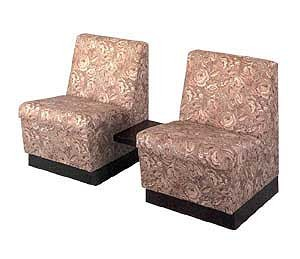 KAEMARK P-68-2T RECEPTION  - Two Reception Chairs/ Attached