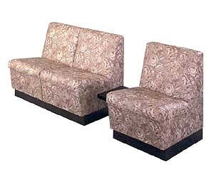 KAEMARK P-68-3T RECEPTION -  Three Reception Chairs/ Attached