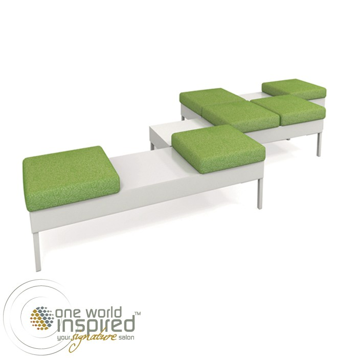 KAEMARK RK-42 RECHTECK MODULAR RECEPTION BENCH