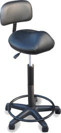 DINA MERI 916-BS SELLA STOOL With Back