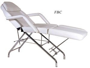 YCC FBC-S1P FACIAL BED ADJUSTABLE BACK AND FOOT REST