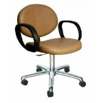 COLLINS 1740 BERRA QSE 5 STAR CASTER BASE MANICURE TASK CHAIR