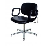 COLLINS 1830 QSE Spring Or Lever  Back Shampoo Chair with 5-Star Base