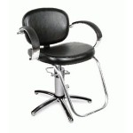 Collins 1300S VALENTI QSE Hydraulic Styling Chair w/Slim Star Base