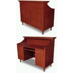 COLLINS 887-60 OR 887-72 BRADFORD Reception Desk
