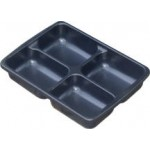 "D.M.Tray With 4 Divisions 3"" Deep"
